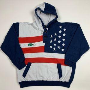 Vintage 90s Lacoste Sweatshirt Hoodie